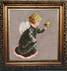 Stitched 2001 Christmas Angel