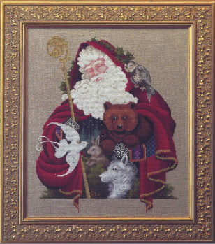 [Photo of Santa of the Forest......L&L 21]